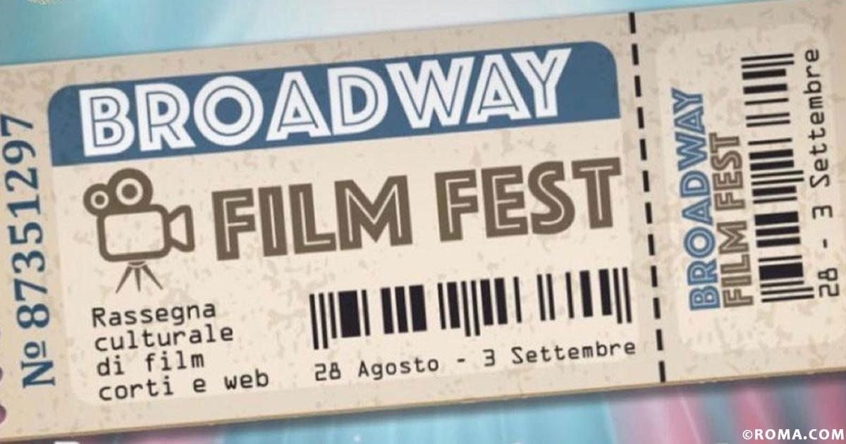 Broadway sta pure a Roma! Il Film Fest più esclusivo della Capitale