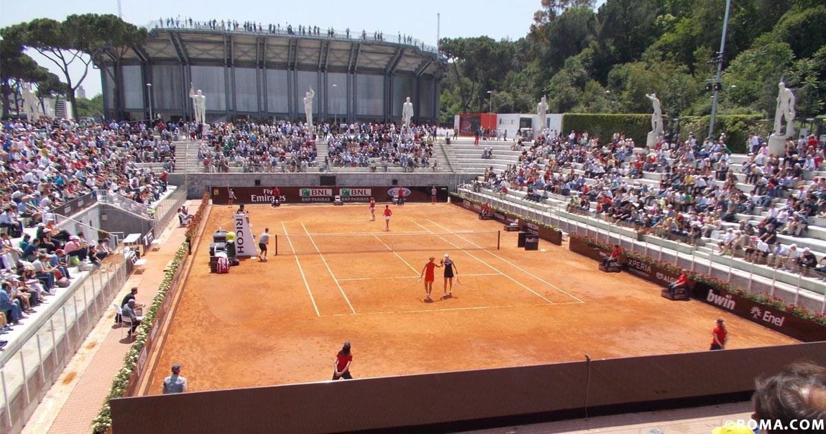 Roma, racchetta alla mano, Internazionali di Tennis a settembre