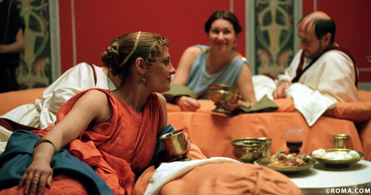 Vorresti mangiare come gli antichi romani? Ecco dei piatti tipici