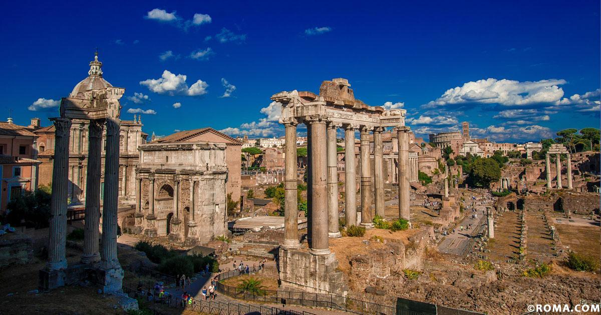 Roma, città della cultura e dei musei a cielo aperto