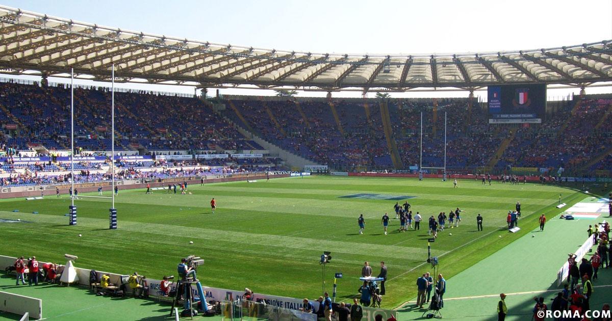 A Roma anche il rugby, il Sei Nazioni 2020 e le partite dell'Italia