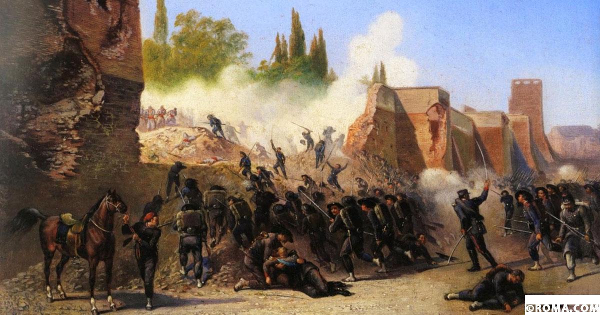 20 settembre, 150 anni dalla Breccia di Porta Pia