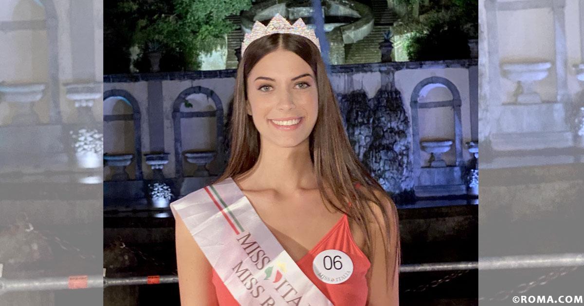 """Martina Sambucini è la nuova miss Roma 2020. Possiamo darti del Tu? """"Assolutamente!"""""""
