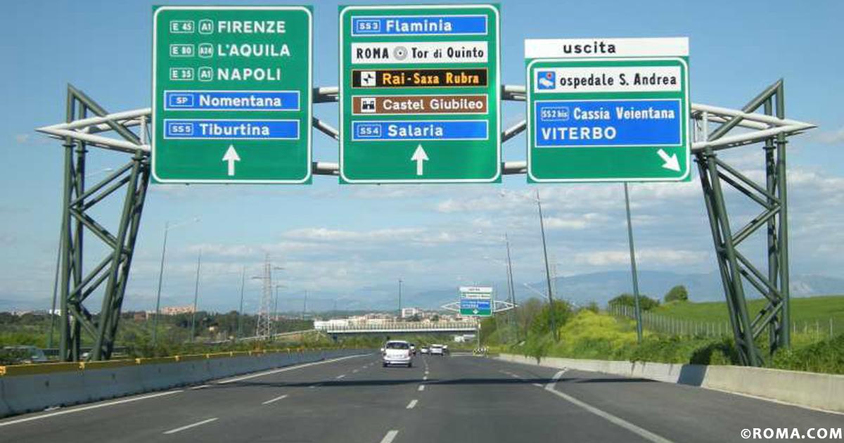 Il Grande Raccordo Anulare, la strada che abbraccia Roma e i romani