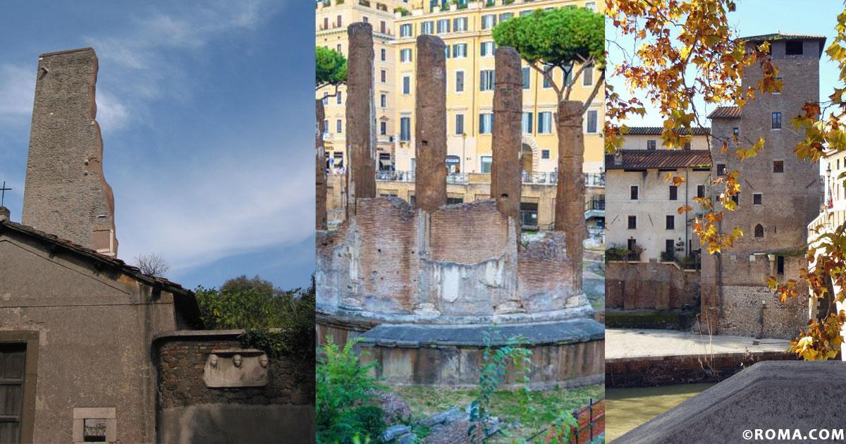 Tor Bella Monaca, Tor de' Cenci, Tor Tre Teste, ma perché tutte queste torri a Roma?
