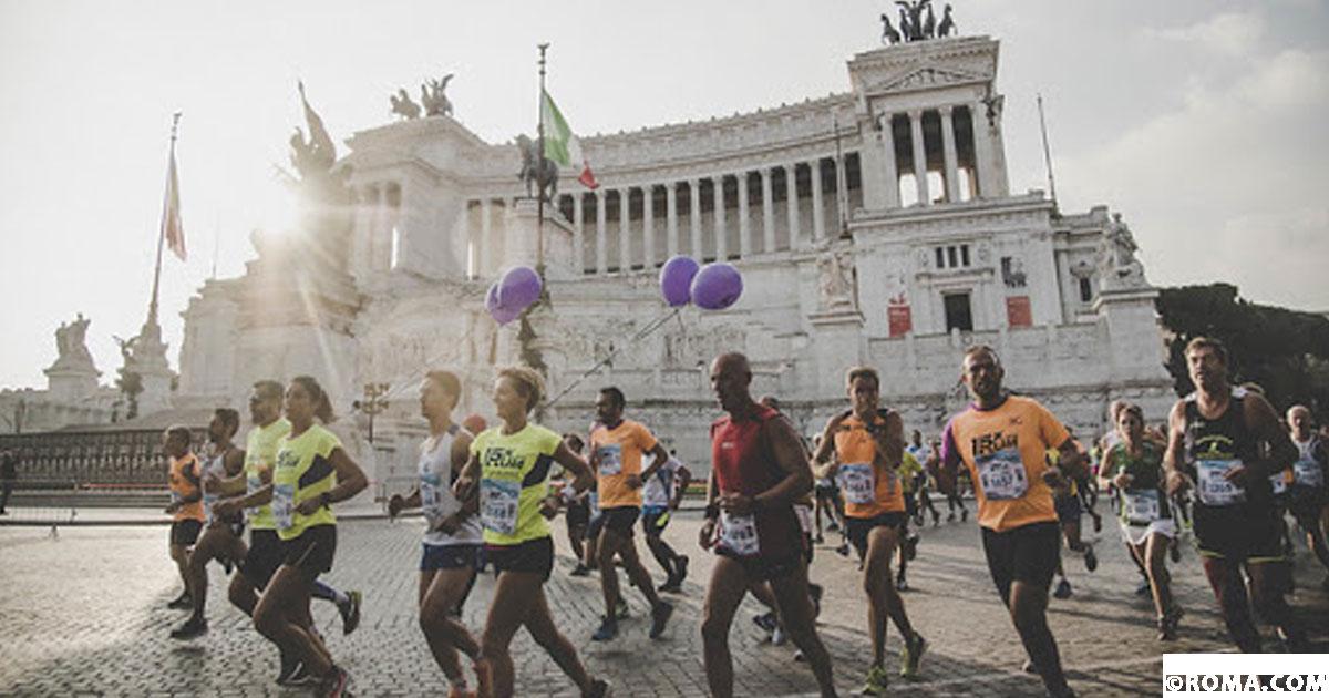Anche a ottobre a Roma se córe, eccome se se córe, le maratone in programma