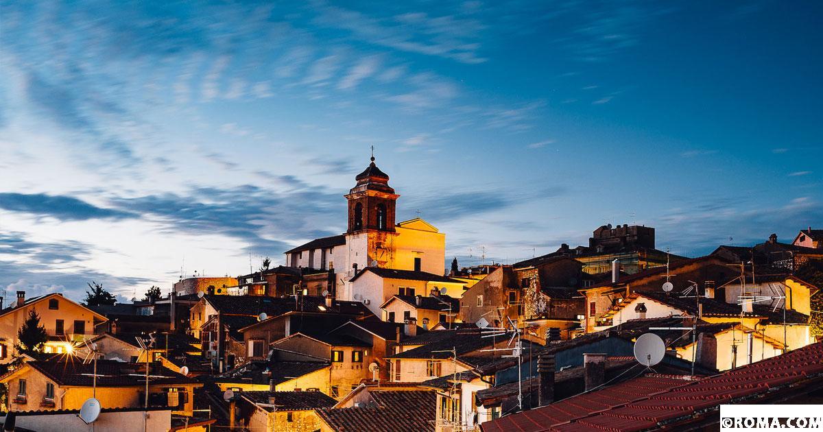 Castel San Pietro Romano, il paese del cinema con un panorama mozzafiato