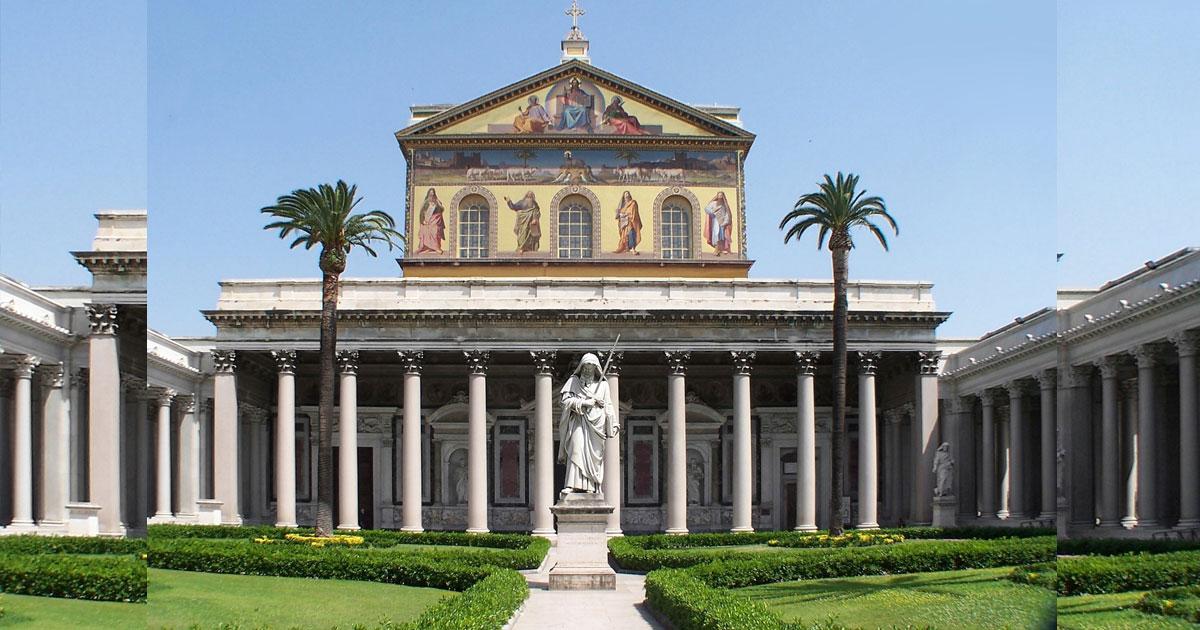 Quante chiese di Roma sono dedicate a San Paolo?