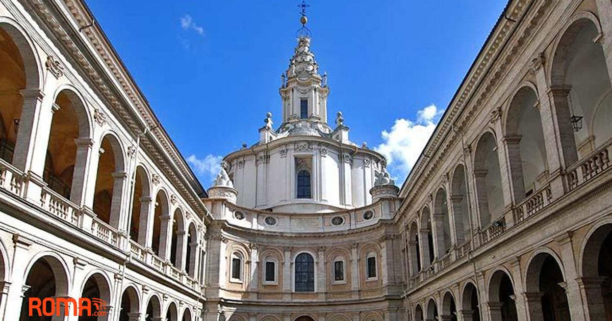 Perché la chiesa di Sant'Ivo alla Sapienza è un'ape?