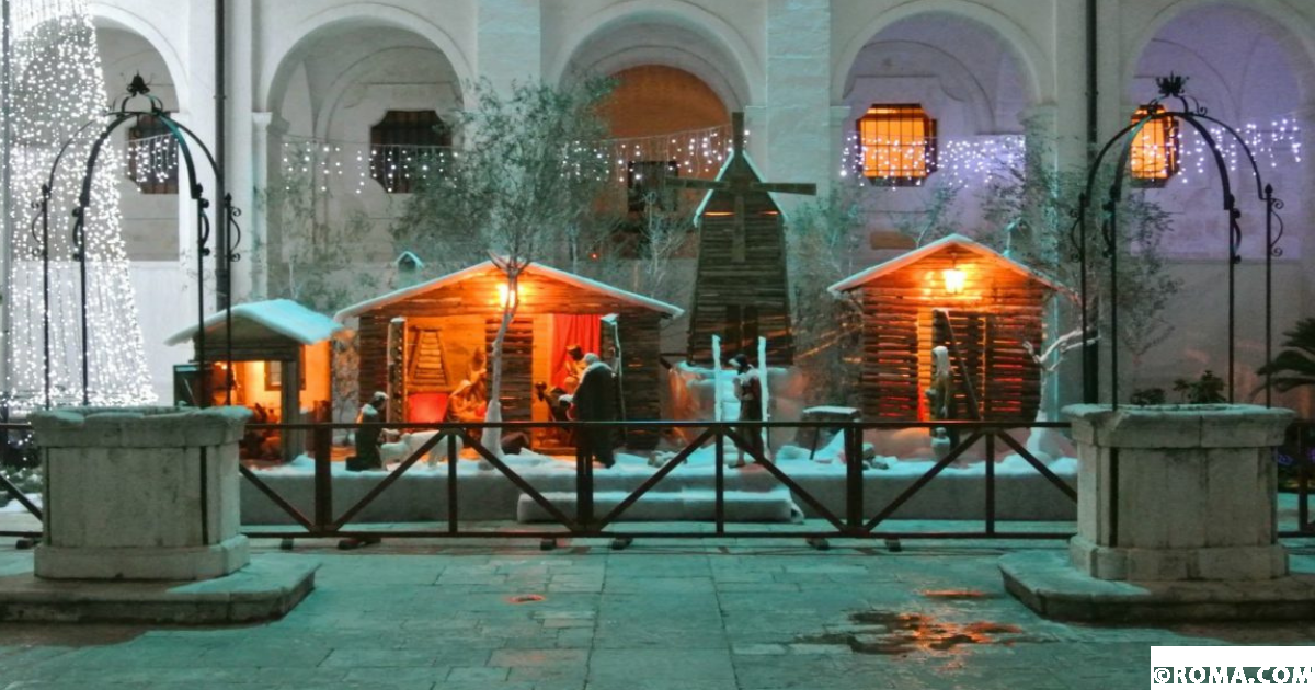 Il presepe della Basilica della Madonna del Pozzo