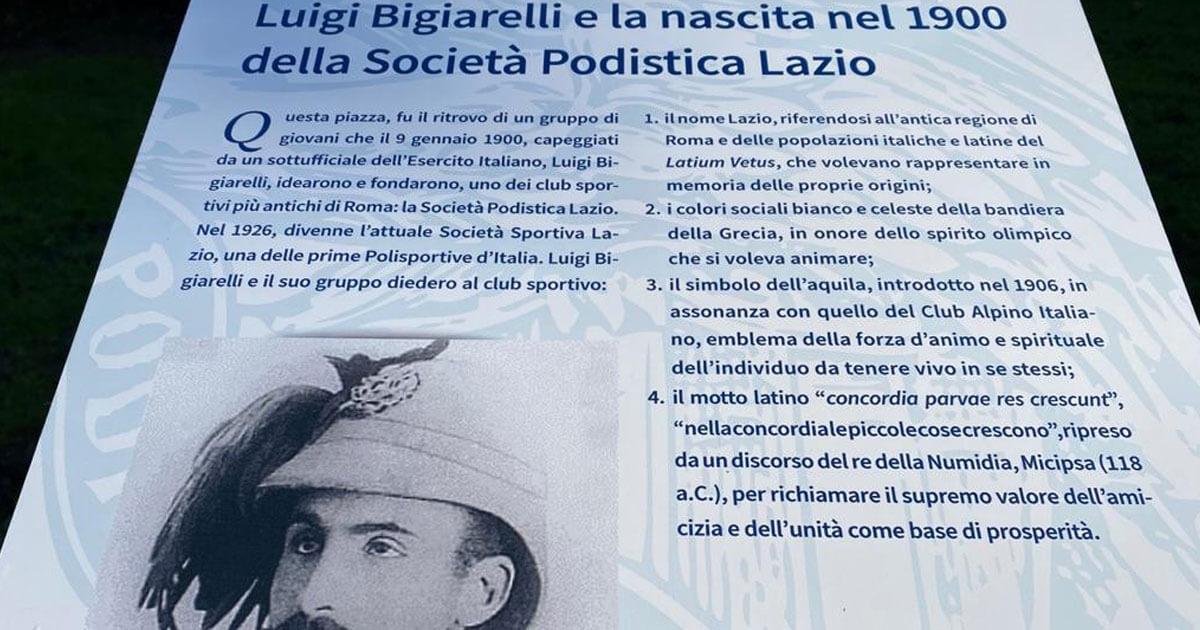 Vola un'aquila nel cielo, Lazio 121 anni di storia tra calcio e successi