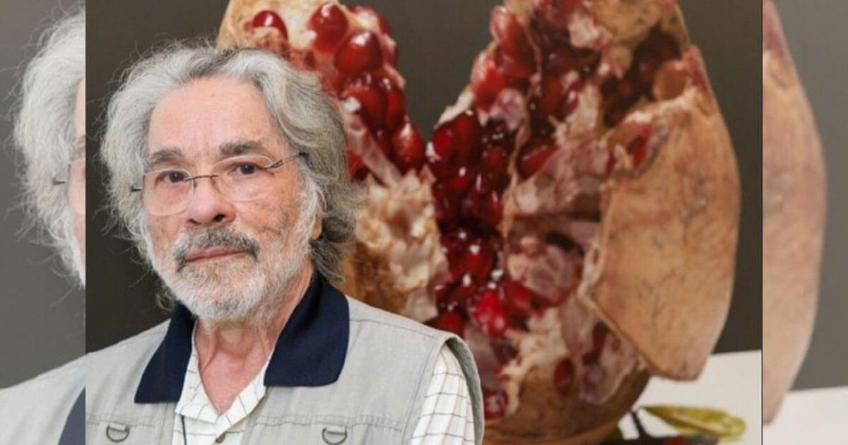 """Addio all'artista Luciano Ventrone. Il noto pittore romano definito """"Il Caravaggio del XX secolo"""" si spegne all'età di 79 anni"""