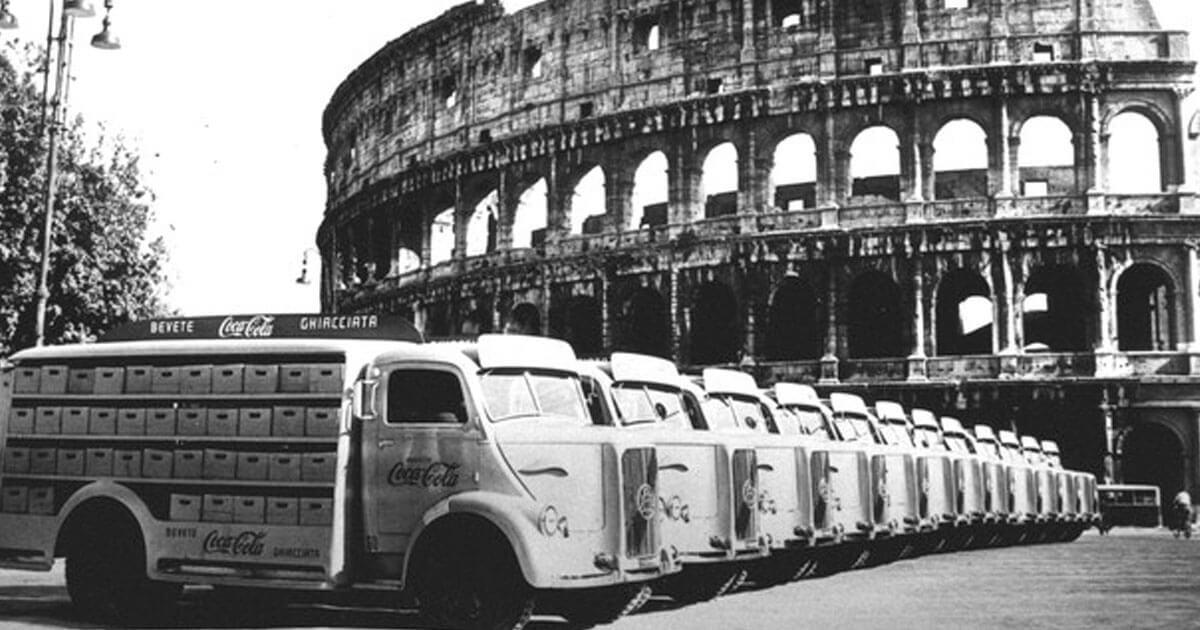 Coca cola o chinotto? La storica battaglia tra America e Roma