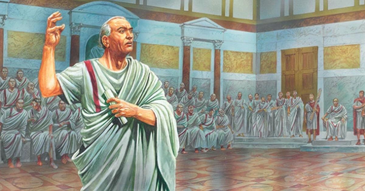 Cicerone, il grande oratore ciociaro, Padre della Patria, ecco la sua tremenda fine