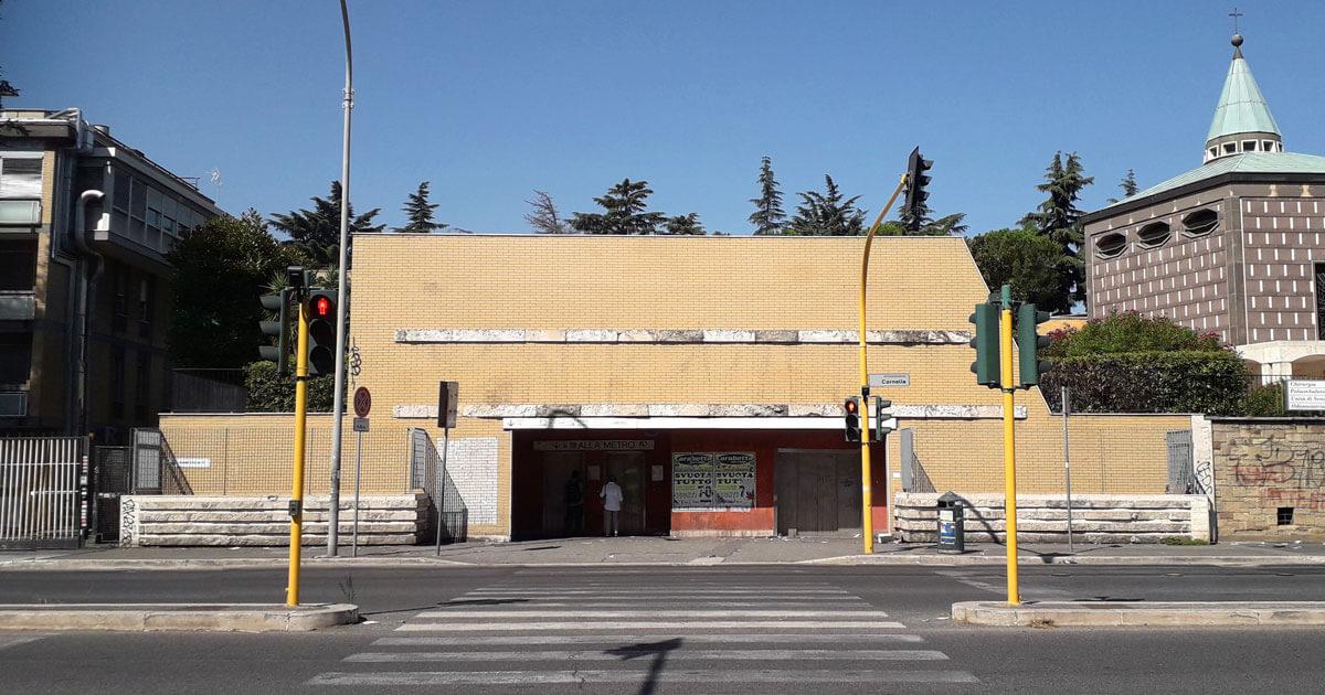 Roma al metro, Cornelia, la metro più profonda della Linea A, cosa vedere