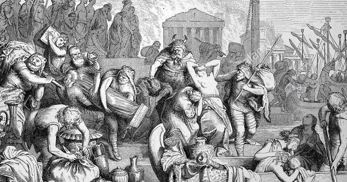 Luglio 472 d.C.: Ricimero assedia Roma