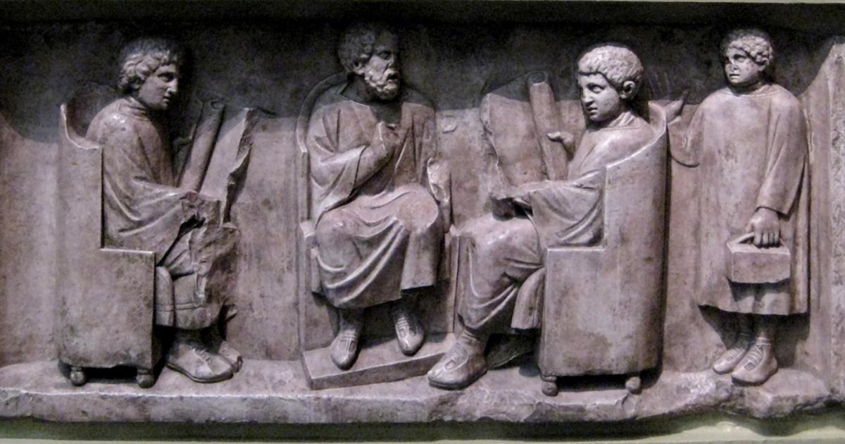 Il sistema scolastico dell'antica Roma