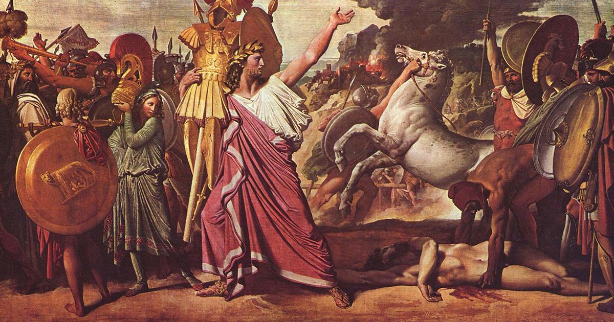 Romolo; il primo re e fondatore di Roma